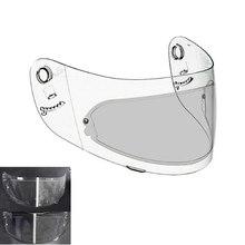 Película de protección para casco de motocicleta, protector para casco de moto K3, K4, AX8, HJC, HD, MT, LS2, antiniebla, resistente a la lluvia, transparente, impermeable, 2 uds.