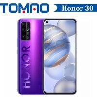 Nuevo Honor 30 6GB 8GB RAM 128GB ROM 256GB 5G teléfono inteligente Octa Core Kirin 985 50x Zoom Digital 40MP trasero cuatro cámaras Android 10