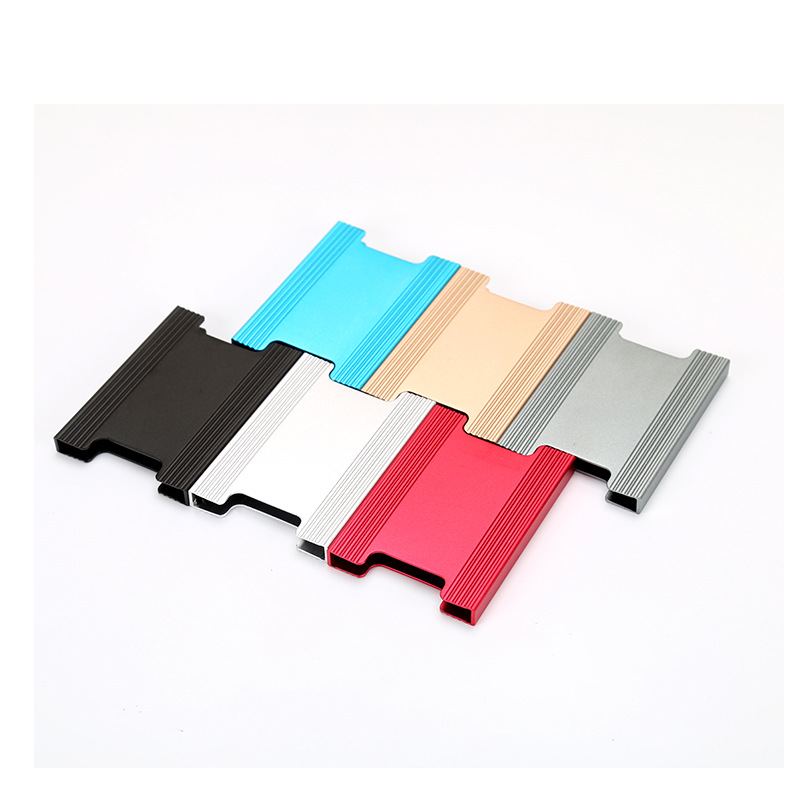 2019 New Business ID Credit Card Holder Thin Wallets Pocket Case Bank Credit Card Package Case Aluminum Alloy Card Box in Card ID Holders from Luggage Bags