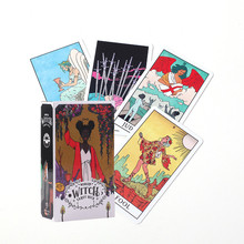 Table-Card Deck Divination-Card Game Witch Tarot Fate Magical Modern The