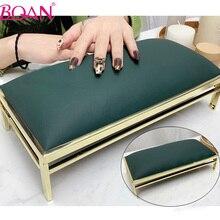 BQNA Nail Hand Pillow Nail Arm Rest Cushion Supportable Desktop Hand Stand Manicure Table Mat Wrist Hand Rest Salon Cushion