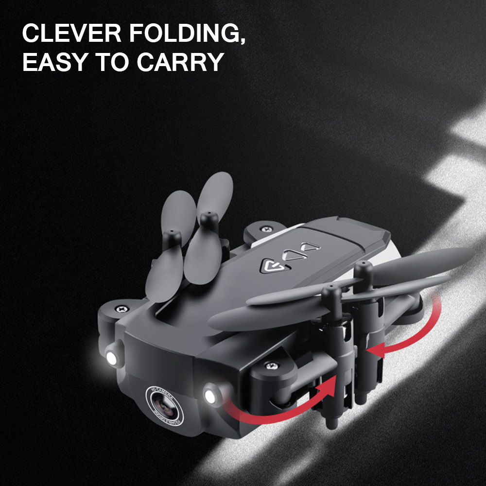 lowest price Mini Folding Drone Aerial  Folding Quadcopter Phone Controlling Remote Control Aircraft Drones Aircraft Drones With Camera Hd