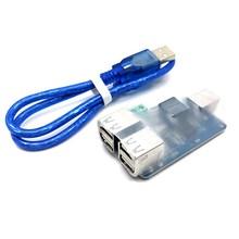 Aislador USB de 4 vías, módulo de aislamiento de concentrador USB, placa de protección acoplada ADUM3160