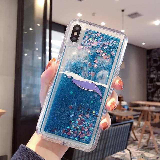 Glitter Unicorn Case Huawei Y6 Y7 pro