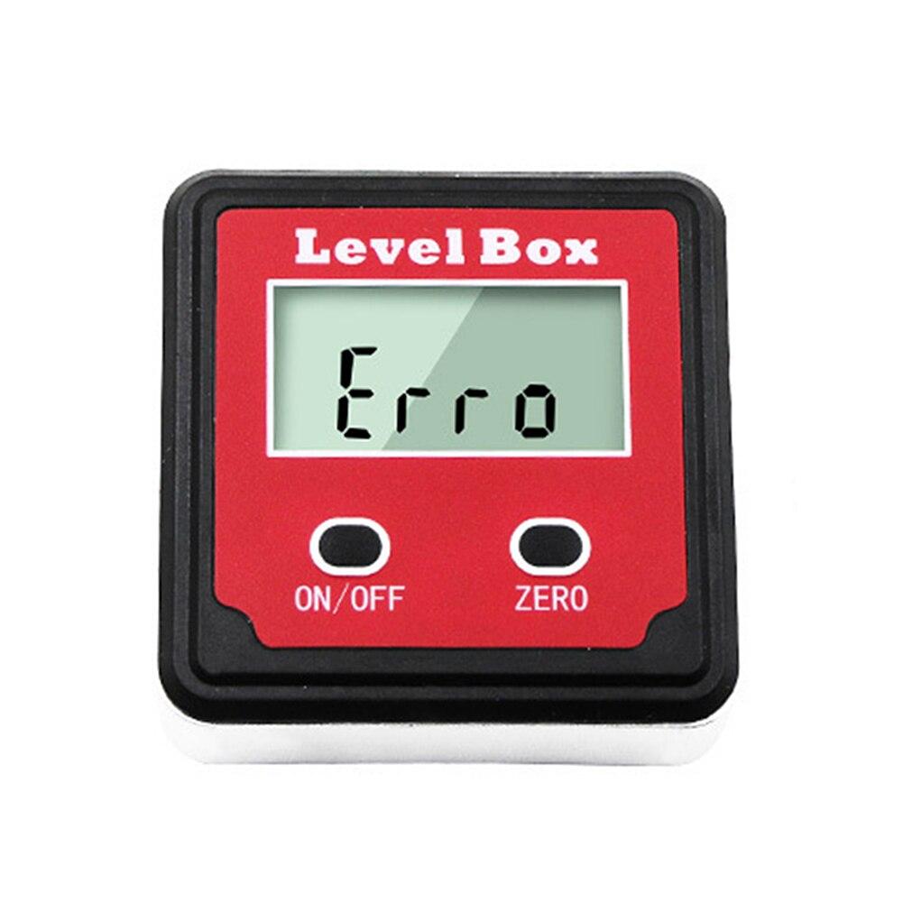 Inclinómetro de nivel de burbuja Digital LCD Original, caja de Nivel Magnético inclinómetro eléctrico transportador, medidor de ángulo Relojes deportivos para exteriores SYNOKE, relojes de pulsera digitales para correr y escalar para hombres, reloj militar resistente a la alarma de impacto resistente al agua