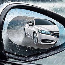 Lcyonger Auto Rückansicht Seiten Spiegel Film 2Pcs Nano Regendicht Klar Anti Regen Nebel Wasser Weichen Film Die Schutzart Aufkleber werkzeug für Honda