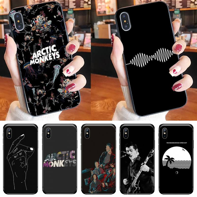 arctic monkeys Special Offer Luxury Vertical Phone Case for iPhone 11 12 pro XS MAX 8 7 6 6S Plus X 5S SE 2020 XR