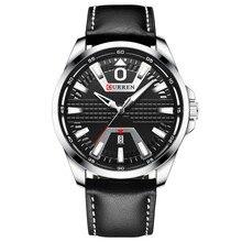 CURREN New Top Brand Clock Watch Man Fas