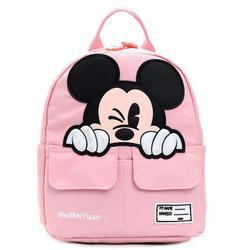 Śliczne dzieci Cartoon plecak przedszkole dzieci mickey torby szkolne wodoodporne torby szkolne tornister dla chłopców dziewczynek 3 kolory