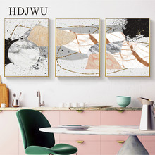 Art Modern Canvas Painting  Home Wall Picture Abstract Creative Printing Poster for Living Room DJ510