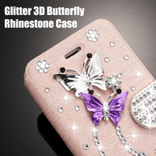 kisscase luxury business flip case for samsung galaxy s10 back cover leather case for samsung a50 note8 s7 note10 s8 s9 s8 plus Glitter 3D Butterfly Rhinestone Flip Case for Samsung Galaxy S20 Ultra S10 S10e S8 S9 Plus S7 Edge Note10 Wallet Leather Cover
