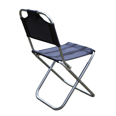 Ultralight 7075 Aluminum Alloy Folding Chair Outdoor Portable Stool Recreational Fishing Chair Barbecue Stool