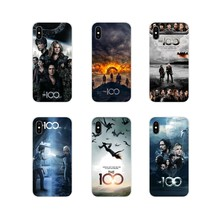 Transparent Soft Cases Covers The 100 Tv Shows Elegant For Apple iPhone X XR XS 11Pro MAX 4S 5S 5C SE 6S 7 8 Plus ipod touch 5 6(China)