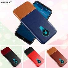 Luksusowe Pu skóra tylna pokrywa na Nokia 3.4 3.2 2.4 8.1 8.3 4.2 6.2 7.2 X5 X6 X71 5.1 6.1 7.1 Plus 8 Sirocco 9 Pureview