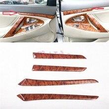 Holz Farbe Innen Tür Trimr Auto Dekoration Zubehör Für Toyota Camry 2006  2011