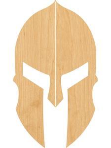Спартанская деревянная Лазерная вырезанная форма-отлично подходит для крафта-Hobbyist-D.I.Y. Проекты