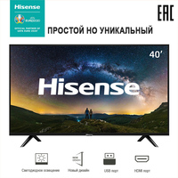 TV Sets 40 Inch Television Hisense 40 40E5100EE Full HD FeatureTV 3D Digital Comb Filter Television MPEG Noise Reduction