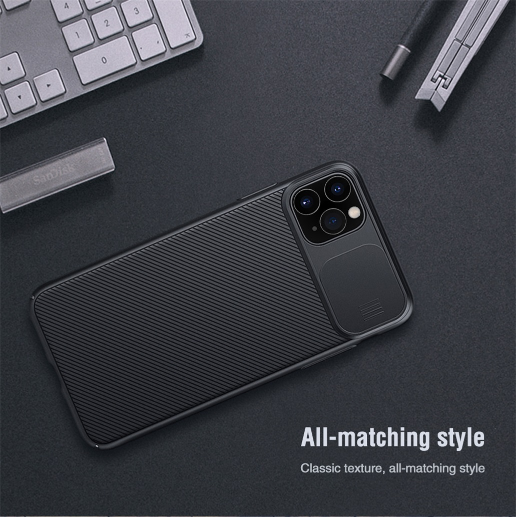 H5bb6fc85c5aa434eb20382cacc60ff8ff For iPhone 11 11 Pro Max Case NILLKIN CamShield Case Slide Camera Cover Protect Privacy Classic Back Cover For iPhone11 Pro