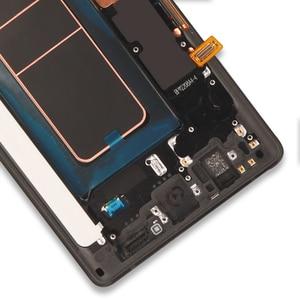 Image 5 - מקורי סופר AMOLED 6.4 תצוגה + מסגרת לסמסונג גלקסי הערה 9 Note9 N960D N960F LCD מסך מגע Digitizer חלקי תיקון