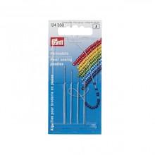 124350 Германия PRYM иглы для бус, № 10 и № 12, 0,45x55 и 0,40x50 мм