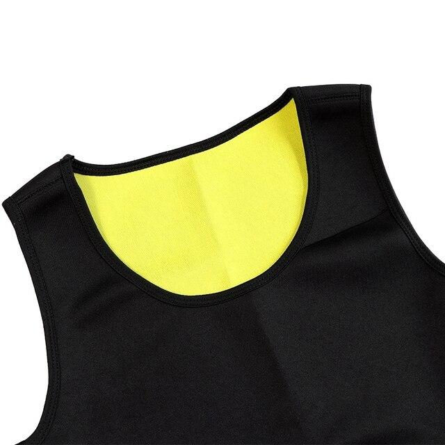 Slimming Belt Belly Men Slimming Vest Body Shaper Neoprene Abdomen Burning Shapewear Waist Sweat Corset Weight Dropshipping-Xxl 2