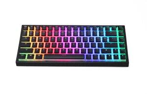 Image 4 - بودنغ V2 pbt doubleshot keycap oem الخلفية للوحة المفاتيح الميكانيكية أبيض أسود gh60 بوكر 87 tkl 104 108 ansi iso xd64 xd68