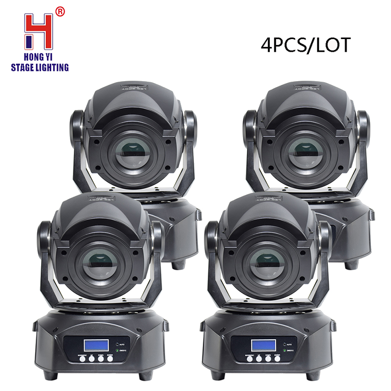 Led 90W Beam Moving Head Light RGBW 4IN1 Gobo Light DMX Professional Stage Lighting Equipment DJ Light(4 Pieces/lot)
