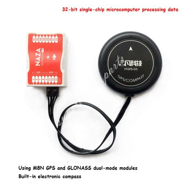 G3 GPS with M8N  and GLONASS Dual mode Modules Compatible  DJI Flight Control NAZA/LITE/V1/V2 Phantom FPV