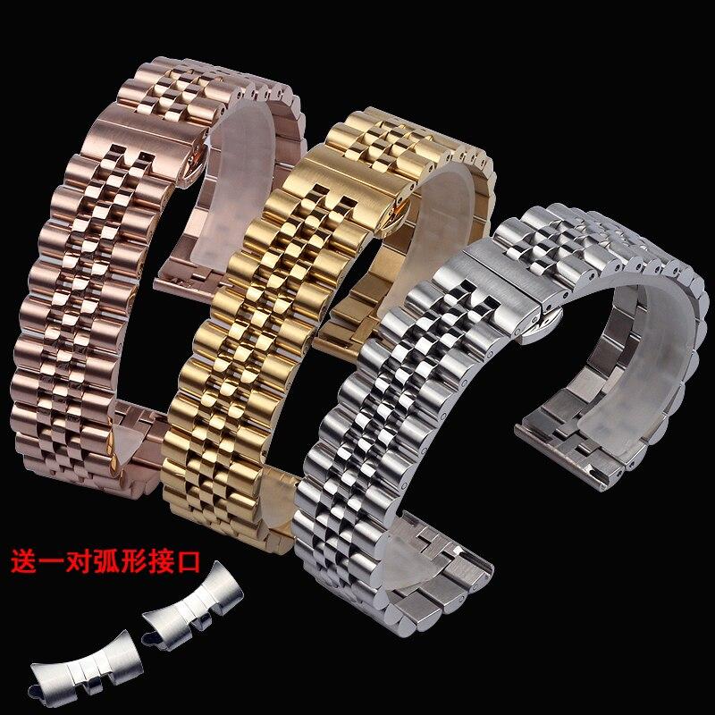 Ремешок для часов, из нержавеющей стали, 12 мм, 13 мм, 14 мм, 15 мм, 16 мм, 18 мм, 20 мм, 22 мм|Ремешки для часов|   | АлиЭкспресс