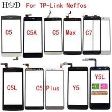 Мобильный сенсорный экран для tp link neffos y5l дигитайзер