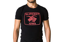 Slipknot Iowa Title Logo T-Shirt Casual Fitness Men T Shirts 2019 Short Sleeve O-Neck Men New High Quality Top Tee Plus Size title mma logo tee white youth xl