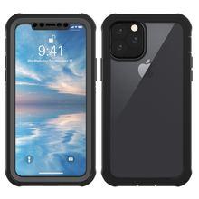 생활 방수 아이폰 11 11 프로 맥스 케이스 지우기 360 학위 보호 스포츠 Shockproof 아이폰 11 XI 2019 케이스