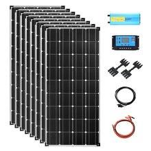 Система солнечных батарей 900 Вт 12 В 960 с инвертором 2000