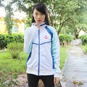 Image 2 - אנימה חינם! Iwatobi מועדון השחייה Haruka Nanase Cosplay תלבושות מעיל יוניסקס הסווטשרט תיכון ספורט ללבוש עבור גברים נשים יוניסקס
