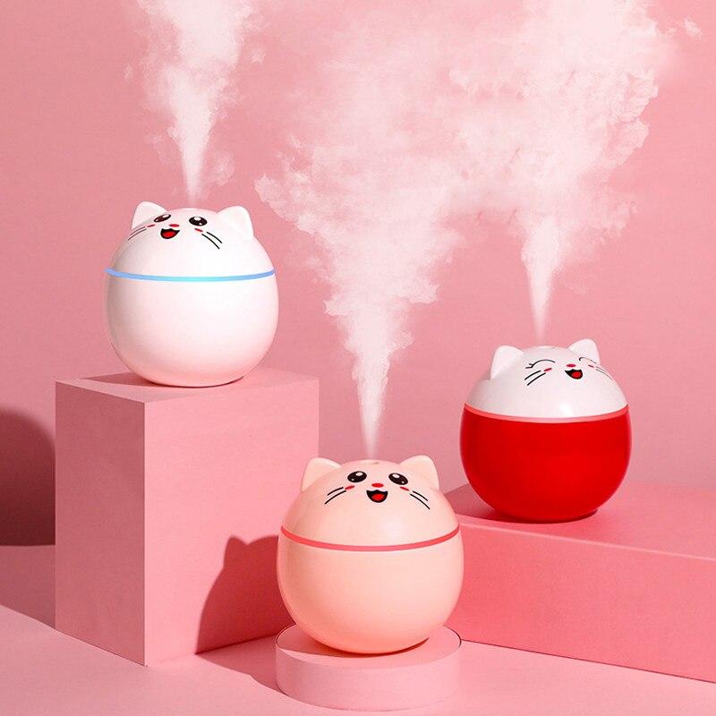 300 ml umidificador de ar ultra-sônico pet aroma difusor de óleo essencial para casa carro usb fogger névoa maker usb difusores ar mais fresco