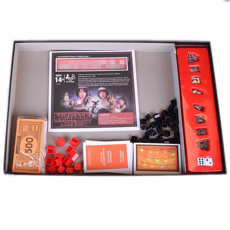 Étranger choses Monopoli jeu de société divertissement carte jeu Puzzle famille jeu pour enfants - 3