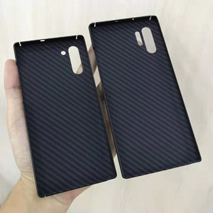 Image 4 - Чехол для телефона из углеродного волокна для Samsung note10 Galaxy note10 Plus, тонкие и легкие атрибуты, полукруглый материал арамидного волокна