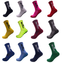 2021 новый стиль TC футбольные носки круглый силиконовый держатель на присоске Нескользящие футбольные носки спортивные носки для бега велос...