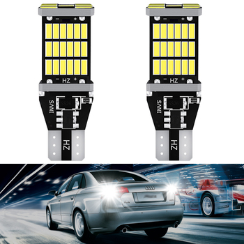 2pcs LED T15 T16 921 W16W Canbus Bulb Car Backup Reverse Lights for Mercedes Benz W220 W213 W176 ML CLK W201 W208 W123 W164 SLK image