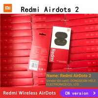 20 50 unids/lote Original de mi Airdots 2 Xiaomi Redmi TWS auricular Bluetooth inalámbrico verdadero 5,0 mi verdad auriculares inalámbricos