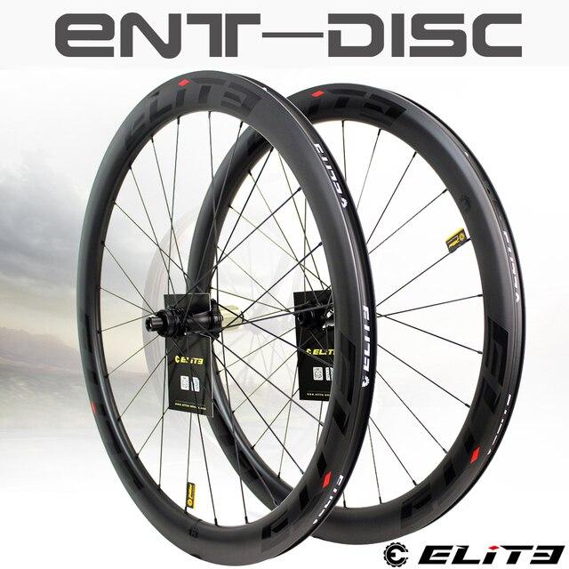 עלית פחמן גלגלי דיסק בלם 700c כביש אופני זוג גלגלי ENT UCI שפת פחמן באיכות עם מרכז מנעול או 6 כתם בוק כביש רכיבה על אופניים