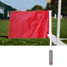 Reusable Sweat Absorption Professional Soccer Judge Linesman Flag Football Referee Tool