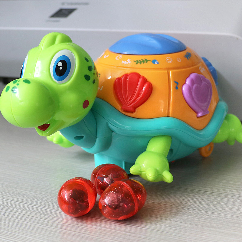 Lay Eggs Of Little Turtle Hen Colorful Turtle Lay Eggs Duck Eggs Turtle Electric Universal CHILDREN'S Toy