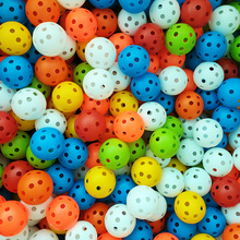 Practice-Accessories Golf-Ball Airflow Plastic Whiffle Hollow 50pcs Lightweight Durable