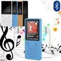 Портативный mp3-плеер с Bluetooth, спортивный плеер с наушниками 3,5 мм, цветной TFT-экран 1,8 дюйма, MP3-плеер с радио/FM/записью
