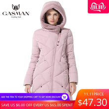 GASMAN Women Parkas Jackets Coats Collection Hooded Bio-Down Thick Plus-Size Fashion