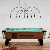 modern restaurant office area lamps creative fashion line bedroom study living room pendant lights