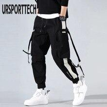 Pantalon de survêtement avec poches pour homme, modèle Streeewear pour la course, mode Hip hop, style tactique, forma cargo, sarouel, vêtement masculin, 2020