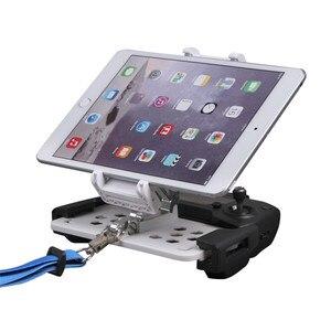 Image 1 - Mavic hava 2 katlanabilir Tablet telefon kelepçe Mavic PRO 2 uzaktan kumanda tutucu DJI Spark için monitör braketi Mavic Mini aksesuarları