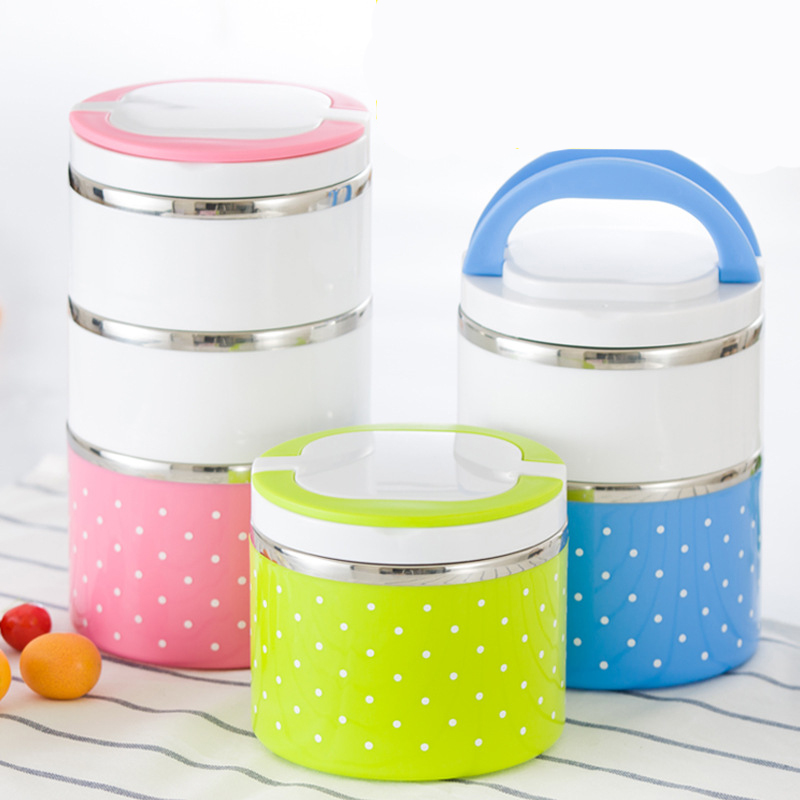 Image 2 - Hot Sale Lunch box Stainless Steel Thermal Insulation School Lunch Box Leak Proof Food Container Bento Box-in Lunch Boxes from Home & Garden